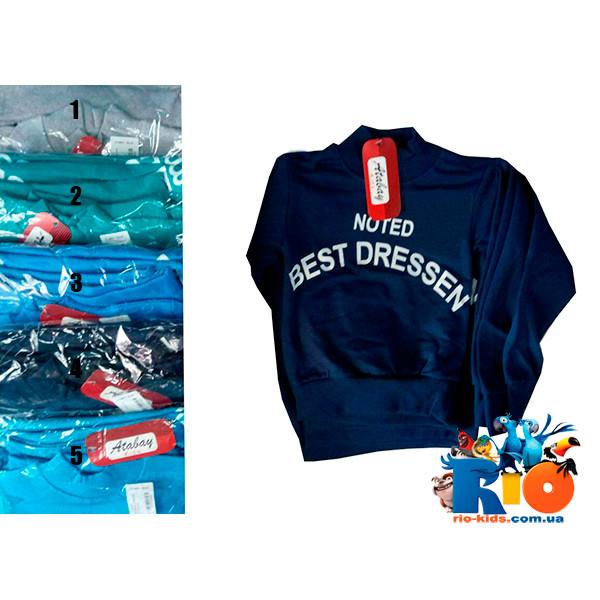 """Детская водолазка-гольф """"BEST DRESSEN """",трикотаж,  для мальчиков от 1-4 года (4 ед. в упаковке)"""