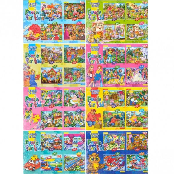 Пазлы детские 54 и 20 элементов K5420