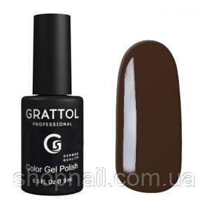 Grattol Gel Polish Black Coffe №143, 9ml