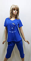 Пижама женская с бриджами 244, фото 1