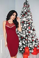 Платье нарядное с сеткой в расцветках 26041, фото 1