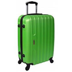 Дорожный чемодан Line (небольшой). Цвет салатовый.