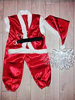 Детский карнавальный костюм САНТА-КЛАУС на мальчика