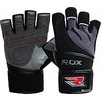 Перчатки для фитнеса, культуризма RDX L1 Leather Gym Gloves WGL-L1W / размер S