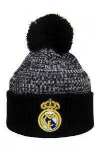 Зимняя шапка Реал Мадрид черная