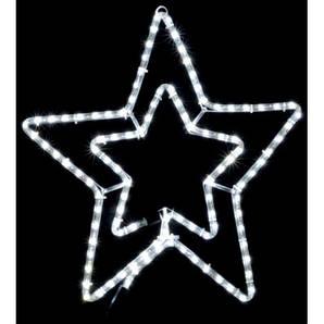 Гирлянда звезда уличной установки DELUX MOTIF Star 54см белый IP44 EN