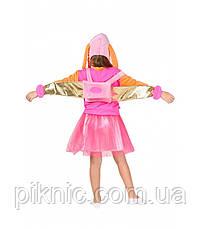 Костюм Скай 5,6,7,8,9 лет Детский карнавальный новогодний Щенячий патруль для девочек 343, фото 3