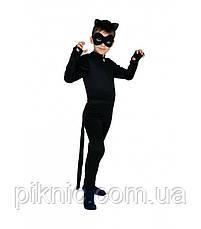 Детский костюм Супер Кот для мальчиков 3,4,5,6,7 лет. Карнавальный, Супер Герой, Багира, герои в масках, фото 3
