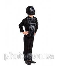 Детский костюм Человек Паук для мальчиков 4,5 лет. Карнавальный, новогодний Герои в масках 343, фото 2