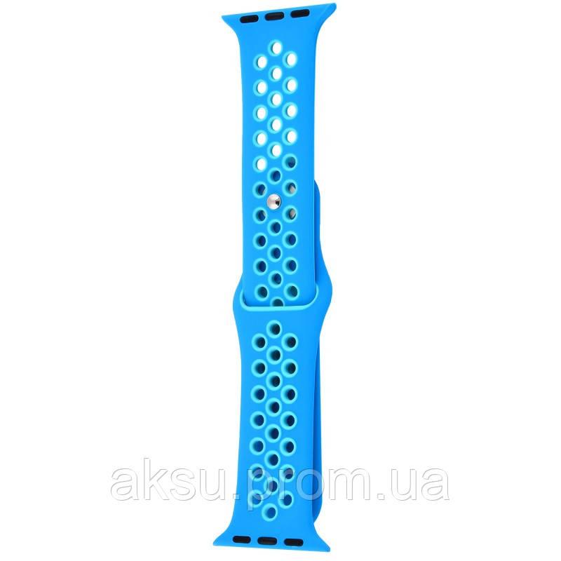 Ремешок для Apple Watch 42mm/44mm Sport Band Nike+ (Blue)