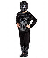 Детский костюм Человек Паук для мальчиков 3,4,5,6 лет. Карнавальный костюм Герои в масках 343