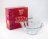 Форма стеклянная термостойкая 32х8,5см круглая для выпечки кекса Borcam (Турция) 59114