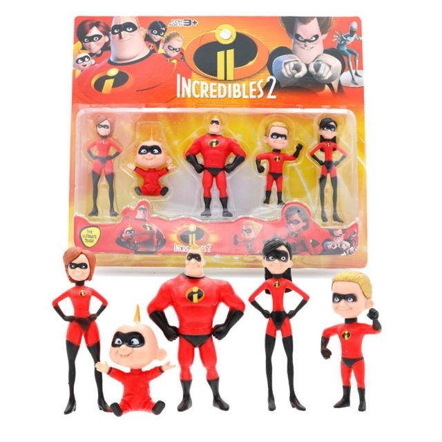 Игрушки фигурки Суперсемейка 2 в упаковке, фото 1