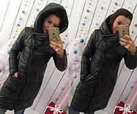 Куртка-пальто мод.245 (плащёвка+синтепон 200), фото 1