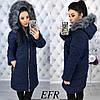 Женская зимняя куртка-букле (синтепон 200)