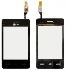 Сенсорный экран (тачскрин) LG T385 black