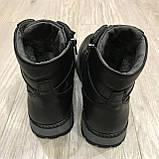 42,43 р Чоловічі черевики шкіряні на блискавці теплі, фото 7