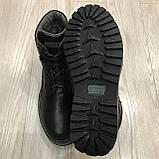 42,43 р  Мужские ботинки кожаные на молнии тёплые, фото 4