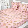 Детское постельное белье в кроватку 147х112 Фланель