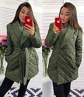 Женская стильная теплая куртка мод.291, фото 1