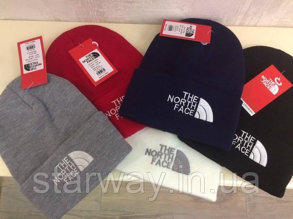 Шапка The North Face логотип вышит | Топ качества | Бирка