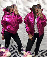 Женская теплая куртка с капюшоном новинка 2018, фото 1