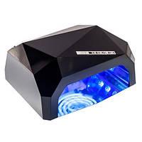 Сушилка для ногтей UV LAMP CCF+LED 00066 красная черная голубая розовая , фото 1