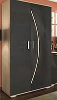 Шкаф 900 Ольвия черный глянец, фото 1