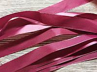 Лента атласная 2,5см Розовая бледная 5м