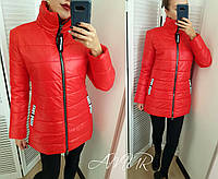 Женская теплая куртка-пальто (норма и батал), фото 1