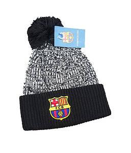 Зимняя шапка Барселона черная