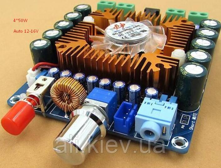 Підсилювач TDA7850 4*50Вт DC 12-16B усилитель аудио