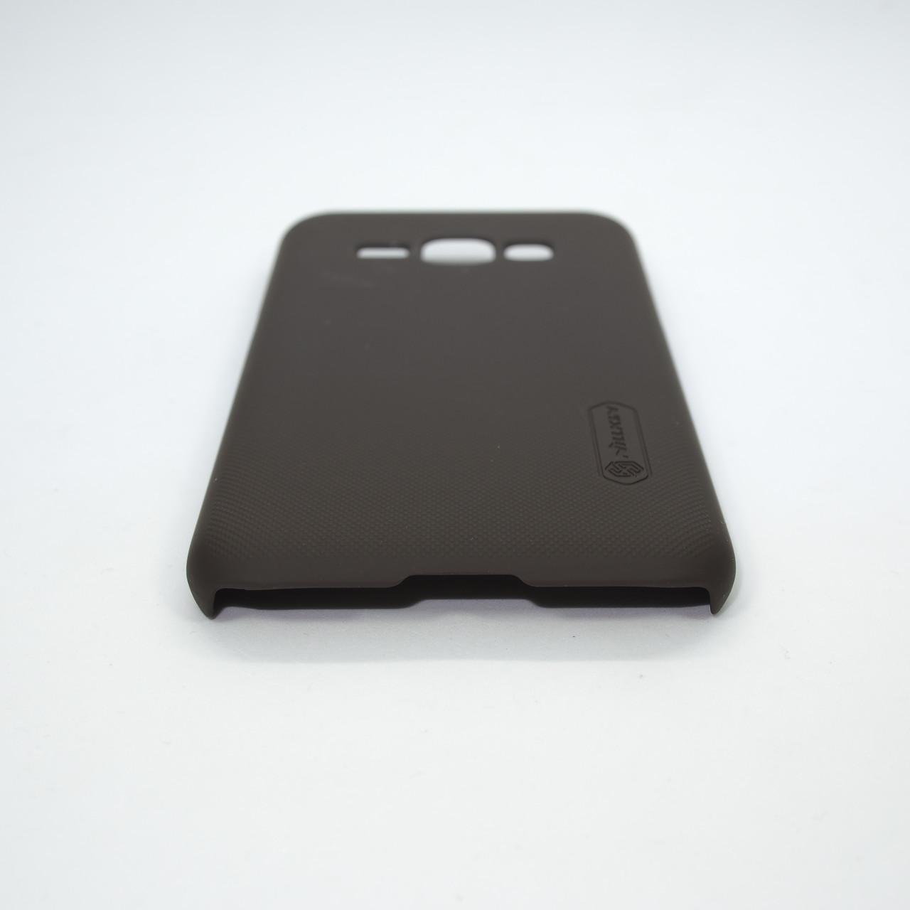 Накладка Nillkin Super Frosted Shield Samsung Galaxy J120 brown Для телефона