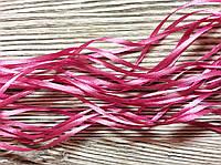 Лента атласная 0,3см Розовая светлая 10м