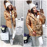 Женская теплая куртка зефирка, фото 1