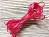 Стрічка атласна 0,3 см Рожева 3м