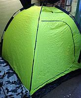 Зимняя палатка зонтик для рыбалки и отдыха Siweida 2 х 2 х 1,75 см (Салатовая)