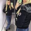 Женская зимняя куртка с капюшоном (производство Китай)