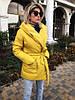 Женская теплая куртка на запах (5 расцветок)