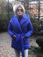 Женская теплая куртка на запах (5 расцветок), фото 1