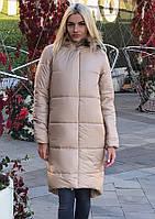 Женская зимняя куртка (мех натуральный енот), фото 1