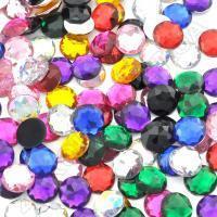 Камень круглый клеевой 10 цветов оптом