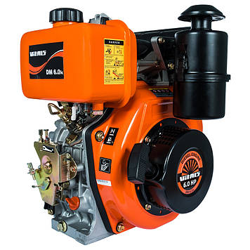 Двигун дизельний Vitals DM 6.0 k, 6 л. с. Безкоштовна Доставка