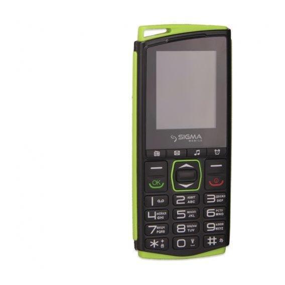 Телефон Sigma Mobile Comfort 50 Mini4 black/green EAN/UPC: 4827798337431