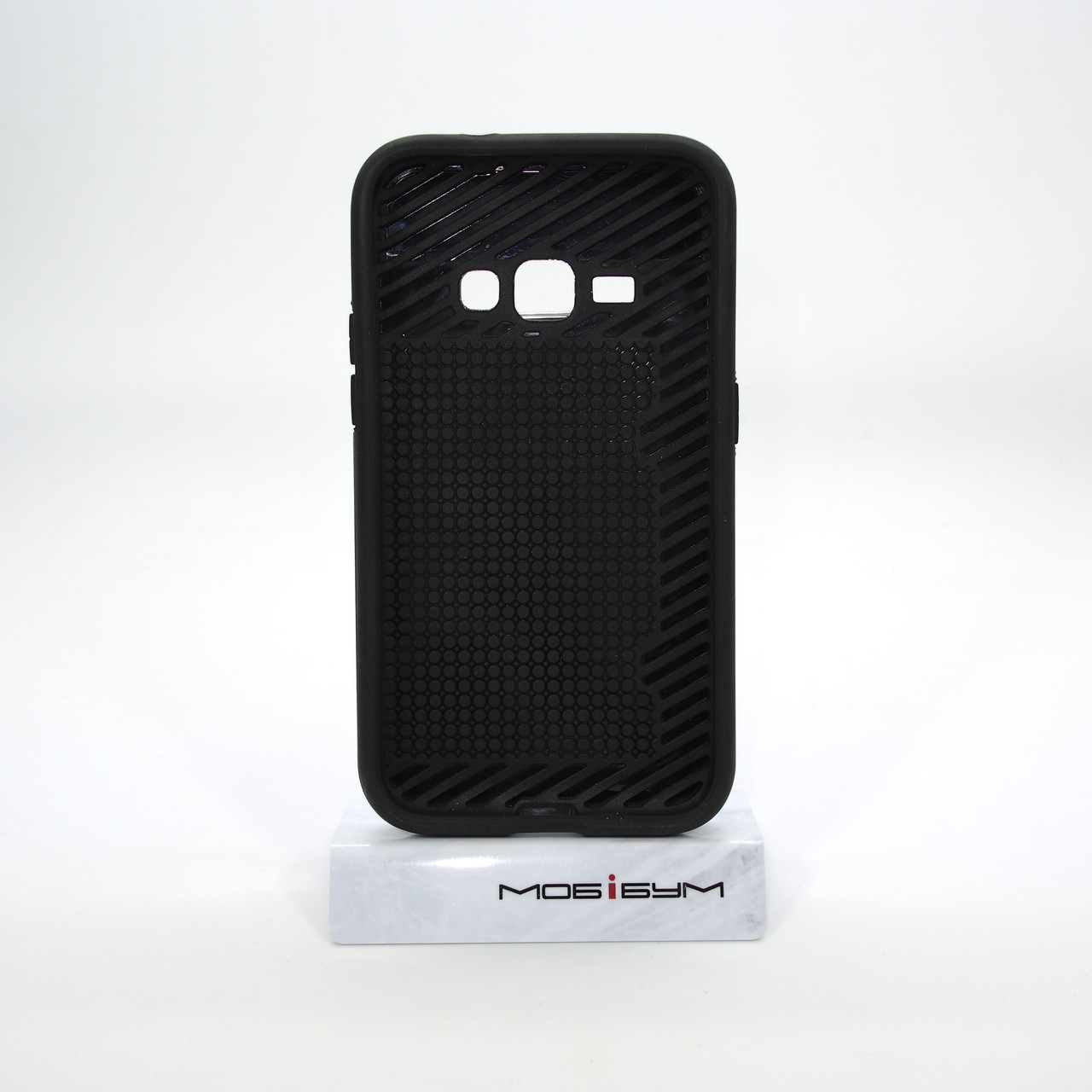 Rock Card Samsung Galaxy J120 carbon grey