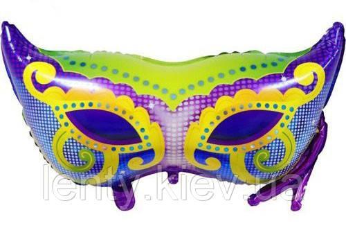 """Куля фігура """"Карнавальна маска"""" 86х66см"""