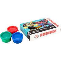 Краски пальчиковые Kite Transformers TF17-064, 6 цветов, 35 мл, фото 1