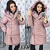 Женская теплая зимняя куртка с капюшоном