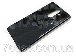 Чехол для Nokia 7 plus силиконовый Molan Cano Jelly Case матовый черный