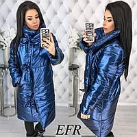 Женская теплая зимняя куртка (утеплитель-синтепон 200), фото 1